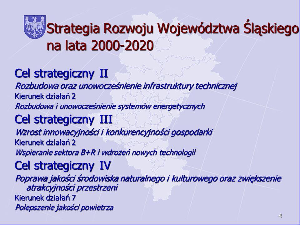 Strategia Rozwoju Województwa Śląskiego na lata 2000-2020