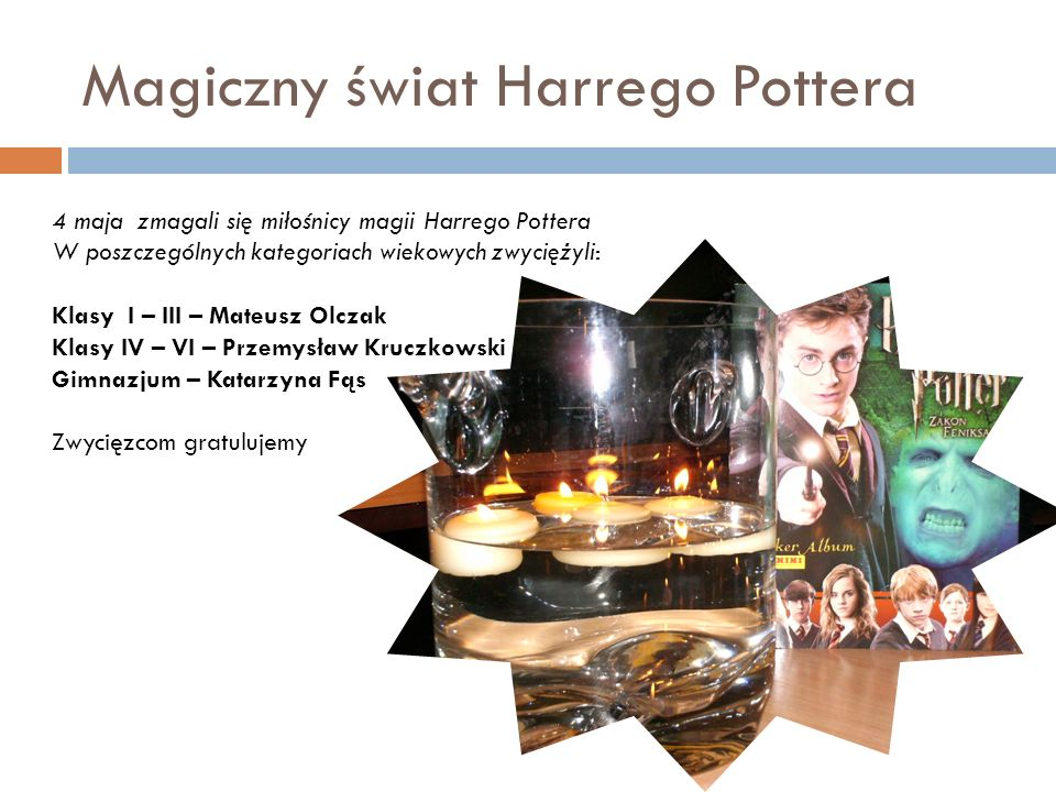 Magiczny świat Harrego Pottera