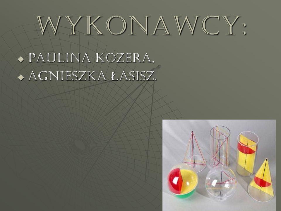 Wykonawcy: PAULINA KOZERA, Agnieszka Łasisz.