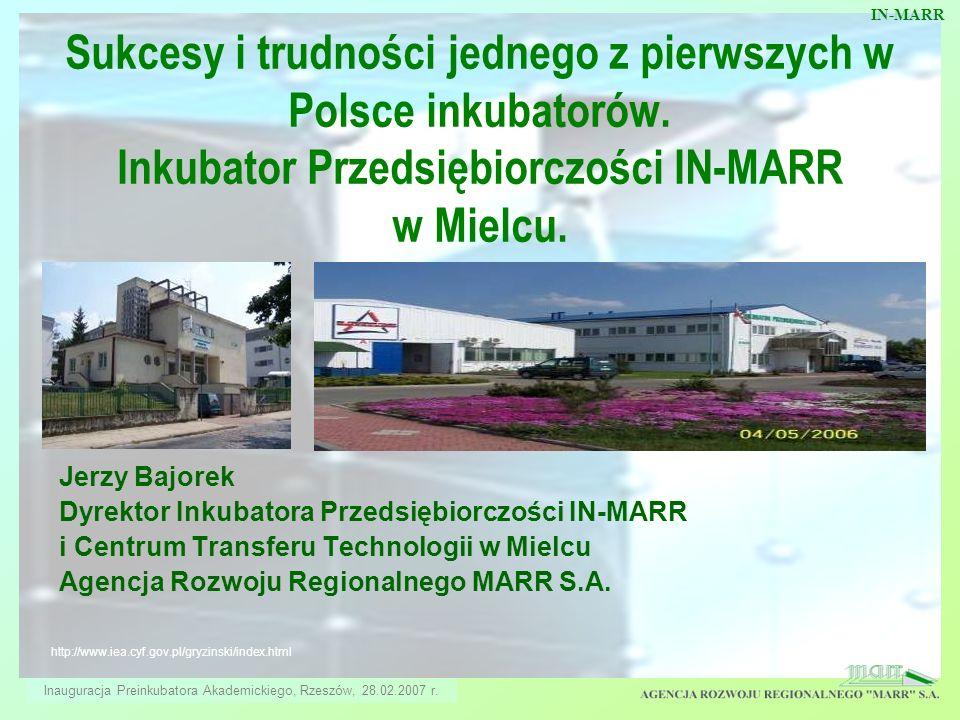 Inauguracja Preinkubatora Akademickiego, Rzeszów, 28.02.2007 r.