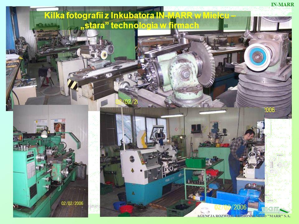"""IN-MARR Kilka fotografii z Inkubatora IN-MARR w Mielcu – """"stara technologia w firmach"""