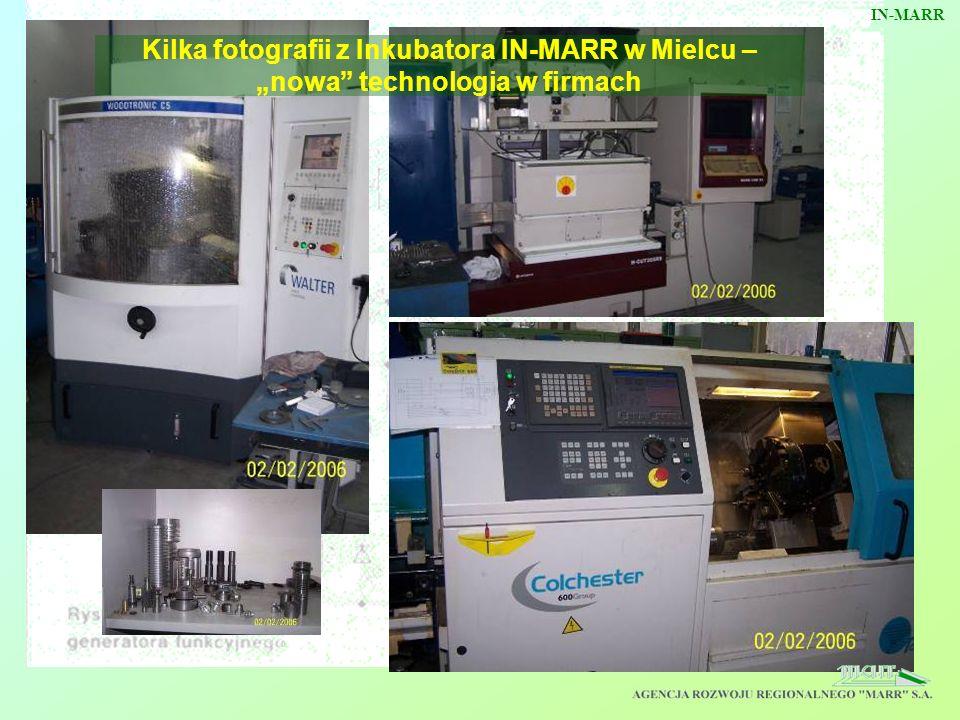 """IN-MARR Kilka fotografii z Inkubatora IN-MARR w Mielcu – """"nowa technologia w firmach"""