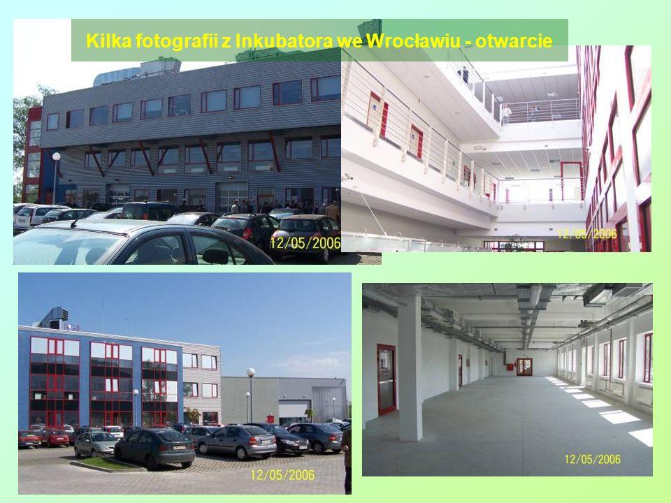 Kilka fotografii z Inkubatora we Wrocławiu - otwarcie
