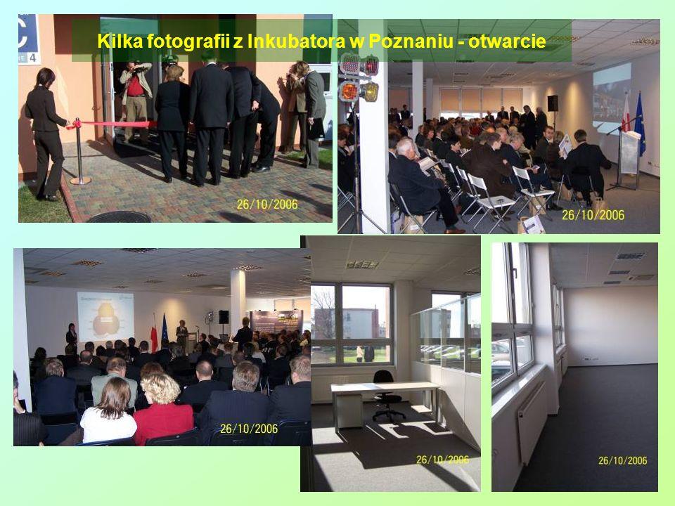 Kilka fotografii z Inkubatora w Poznaniu - otwarcie