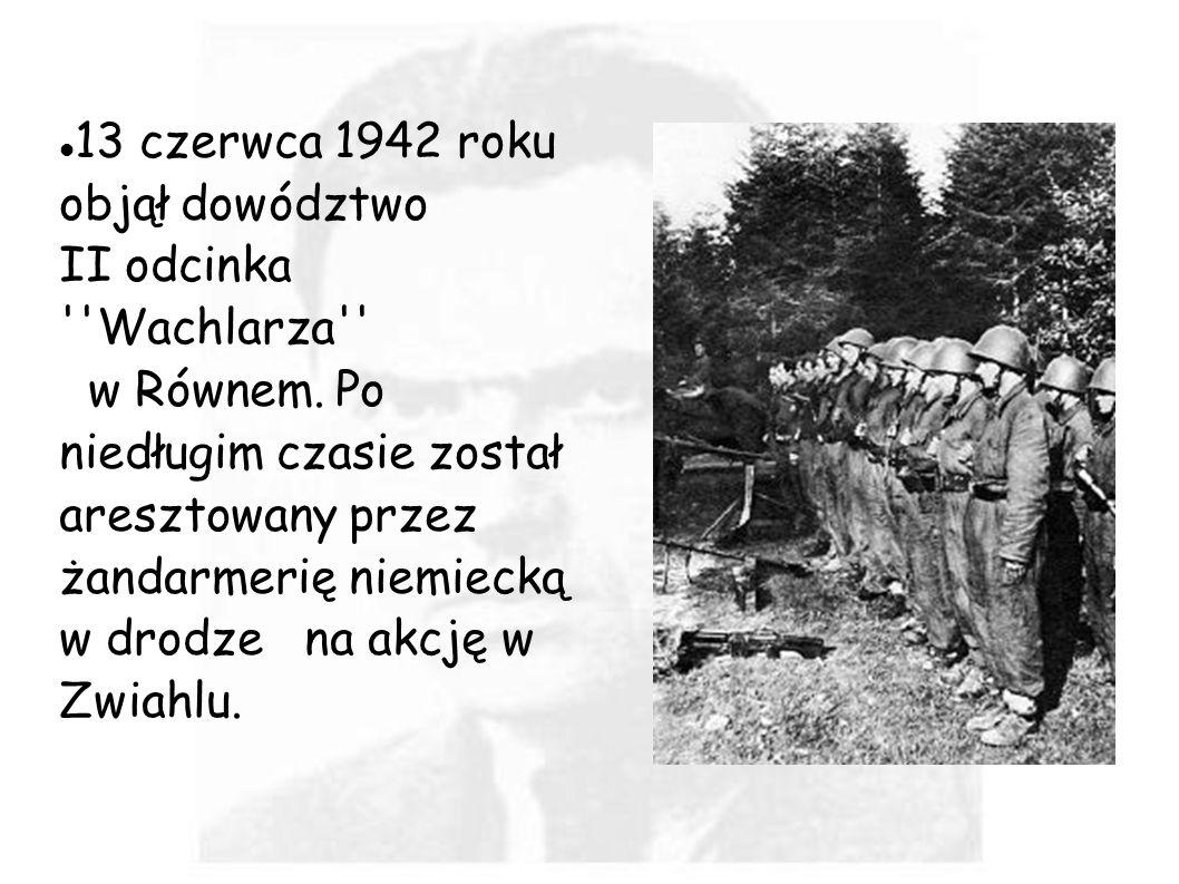 13 czerwca 1942 roku objął dowództwo
