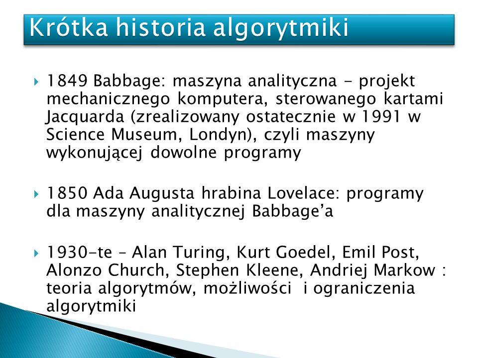 Krótka historia algorytmiki