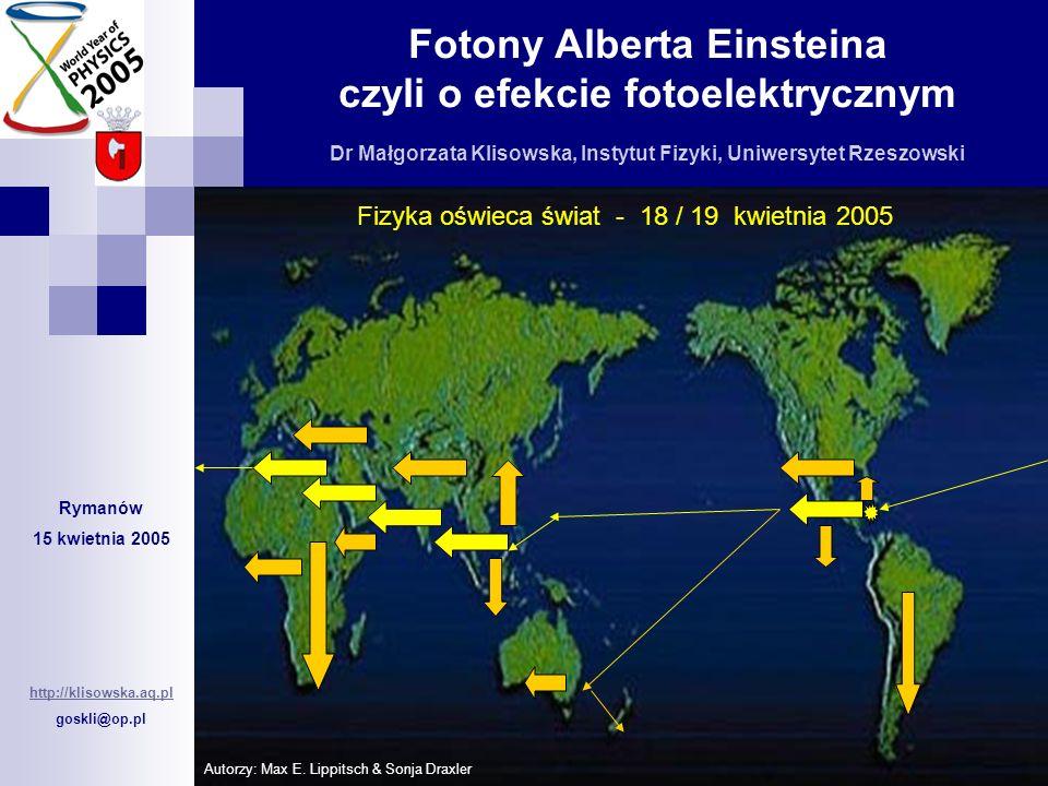 Fizyka oświeca świat - 18 / 19 kwietnia 2005