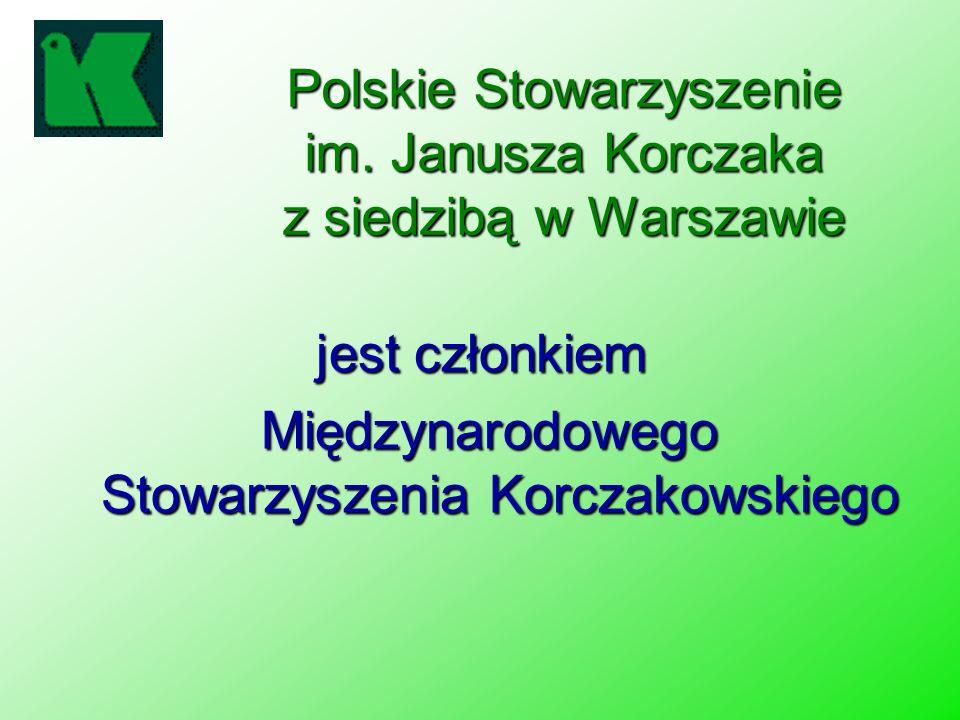 Polskie Stowarzyszenie im. Janusza Korczaka z siedzibą w Warszawie
