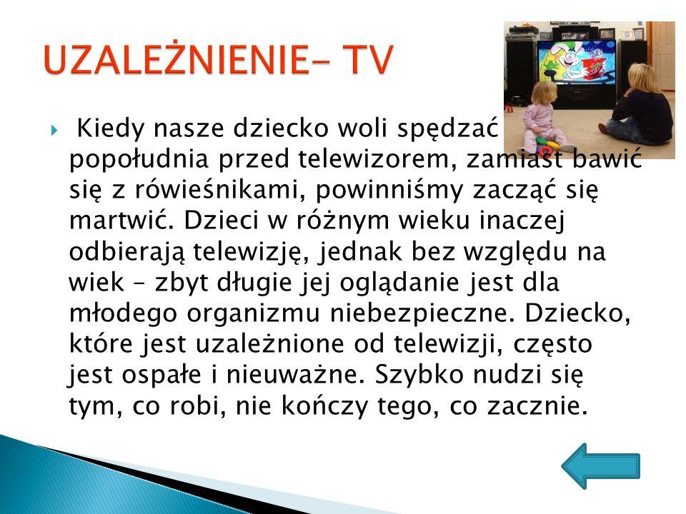 UZALEŻNIENIE- TV