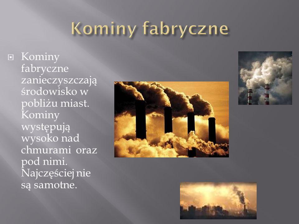 Kominy fabryczne