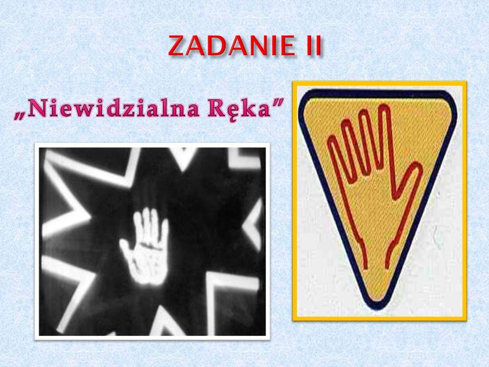 """ZADANIE II """"Niewidzialna Ręka"""