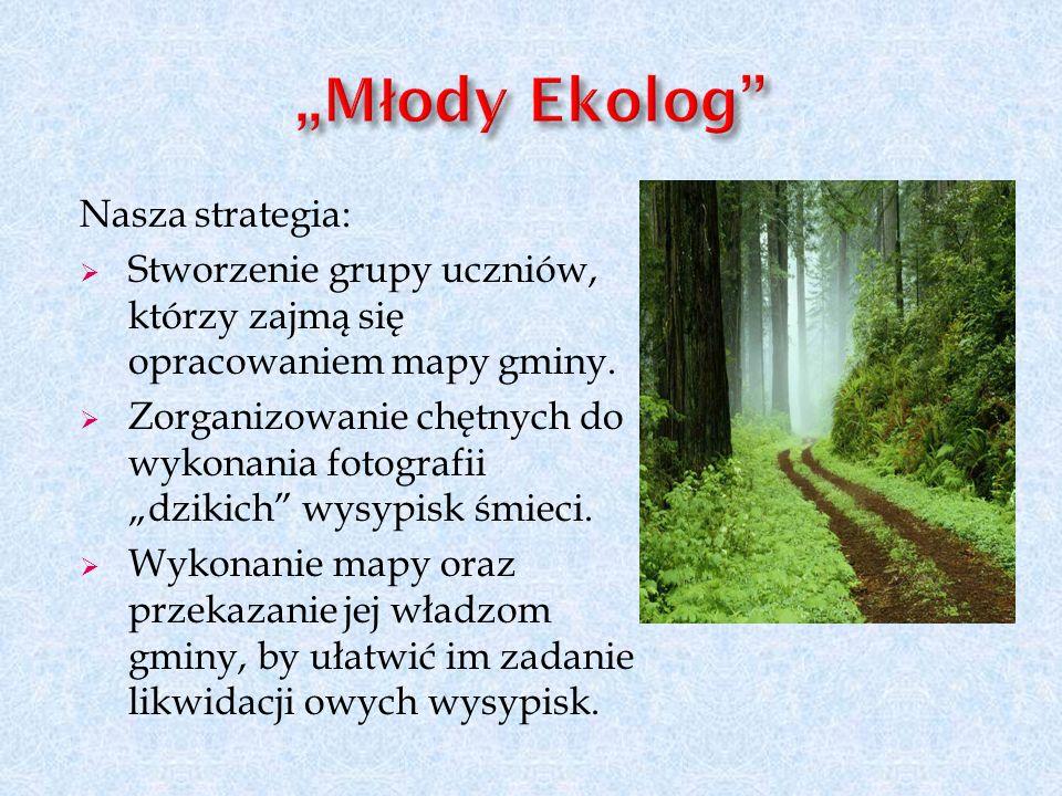 """Młody Ekolog Nasza strategia:"