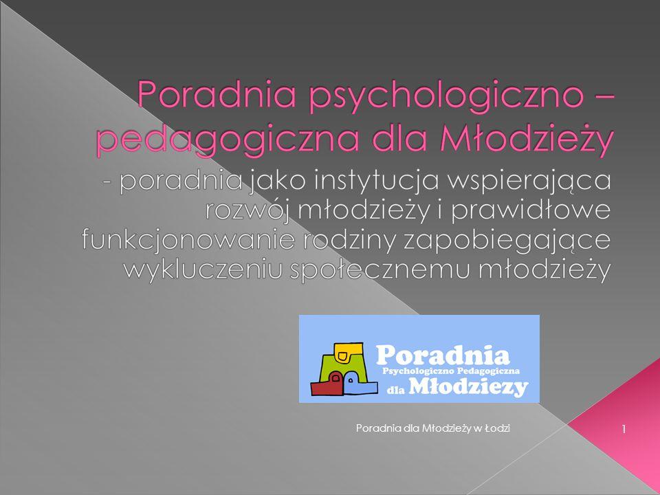 Poradnia dla Młodzieży w Łodzi