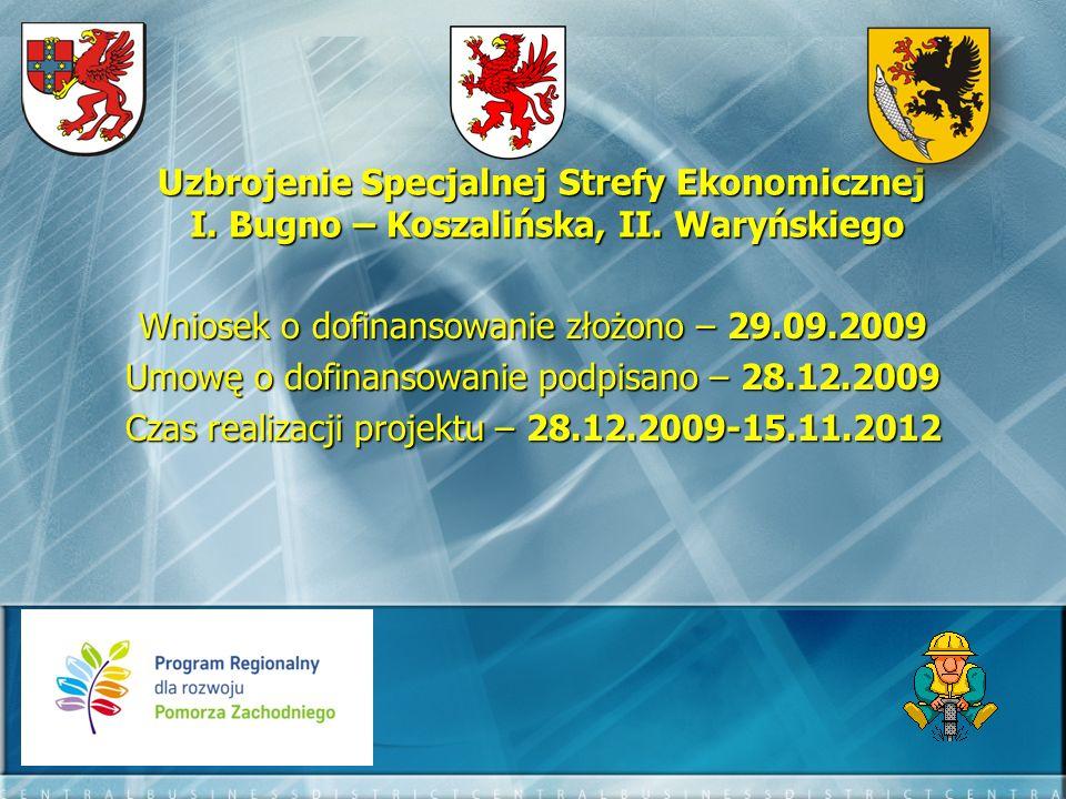 Wniosek o dofinansowanie złożono – 29.09.2009