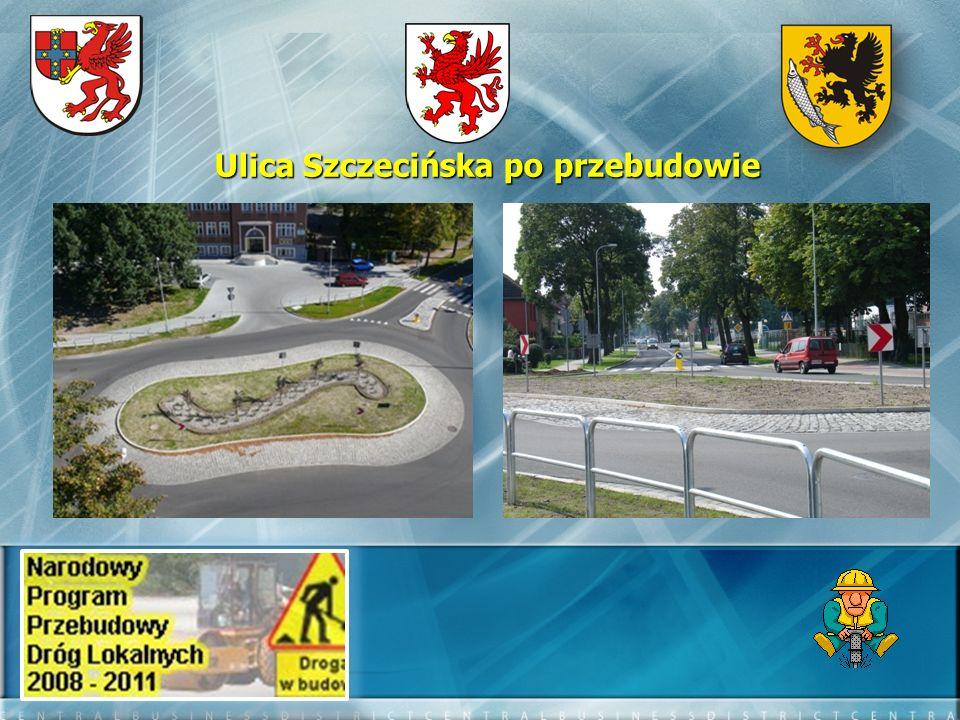 Ulica Szczecińska po przebudowie