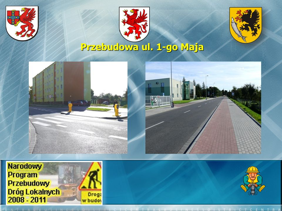 Przebudowa ul. 1-go Maja