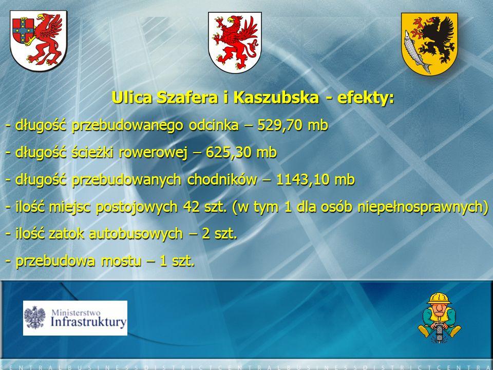 Ulica Szafera i Kaszubska - efekty: