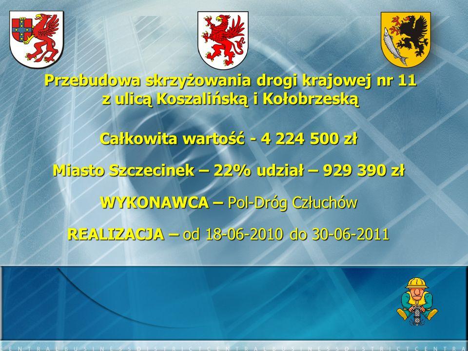 Miasto Szczecinek – 22% udział – 929 390 zł