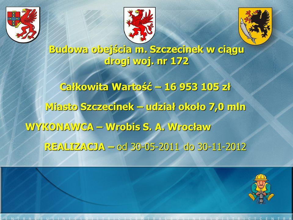 Budowa obejścia m. Szczecinek w ciągu drogi woj. nr 172