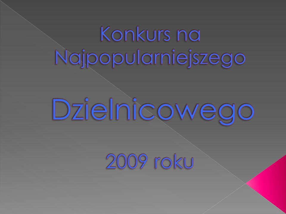 Konkurs na Najpopularniejszego Dzielnicowego 2009 roku