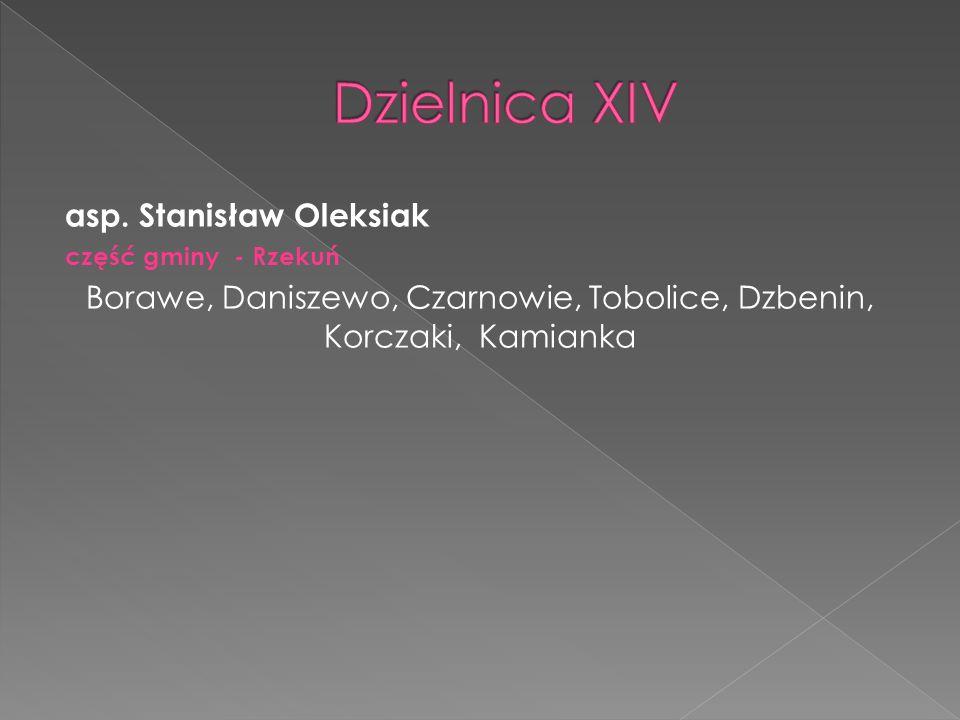 Borawe, Daniszewo, Czarnowie, Tobolice, Dzbenin, Korczaki, Kamianka