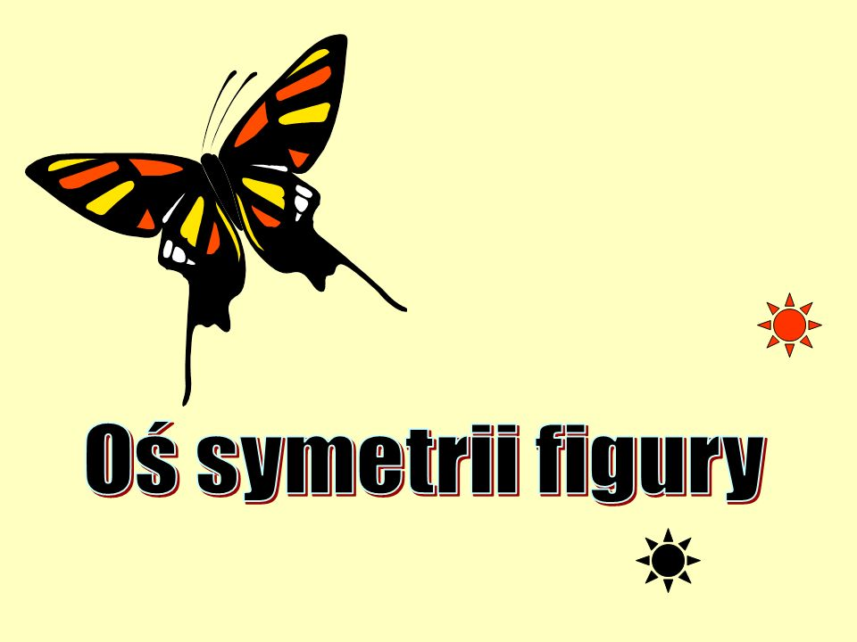 Oś symetrii figury