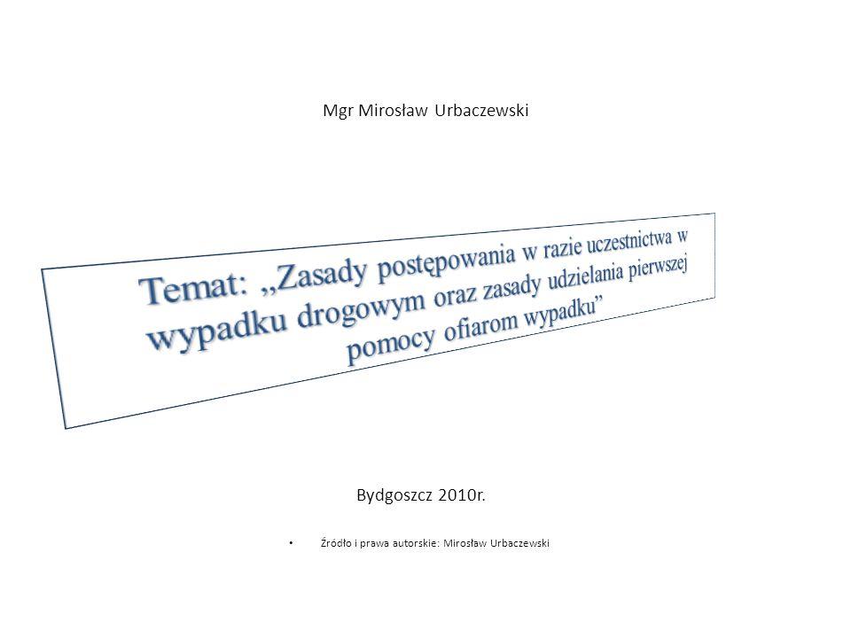 Mgr Mirosław Urbaczewski