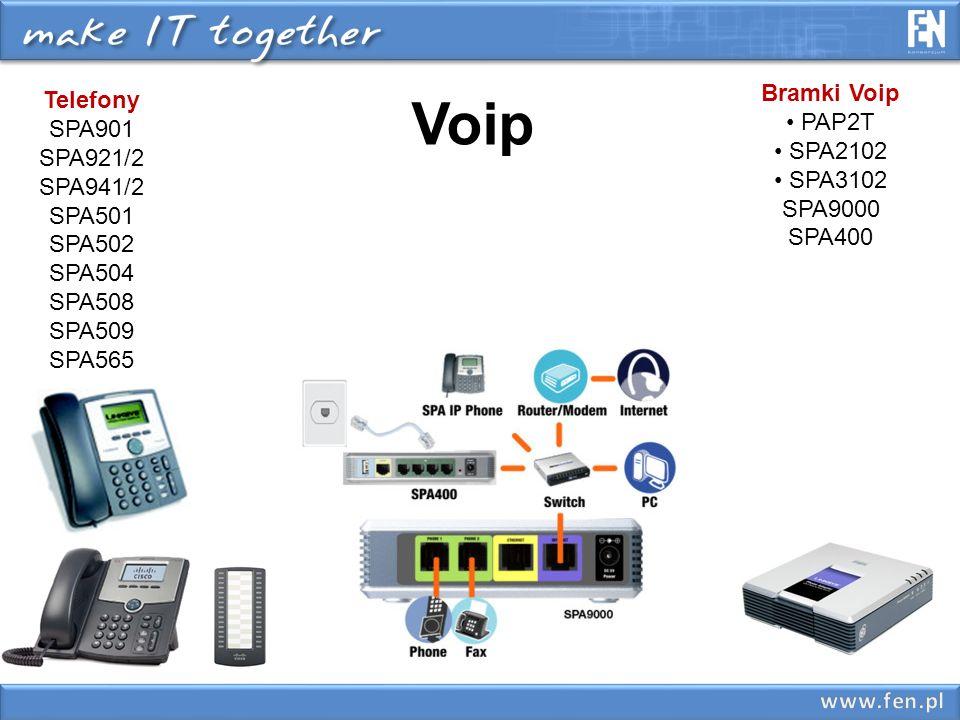 Voip Bramki Voip Telefony SPA901 PAP2T SPA2102 SPA921/2 SPA3102