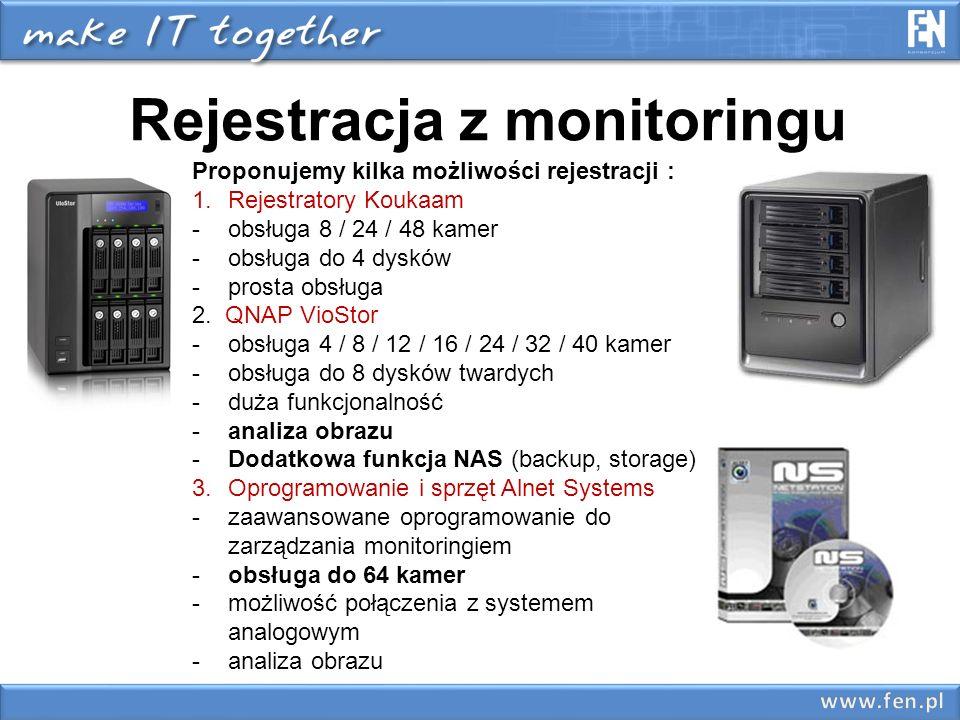 Rejestracja z monitoringu