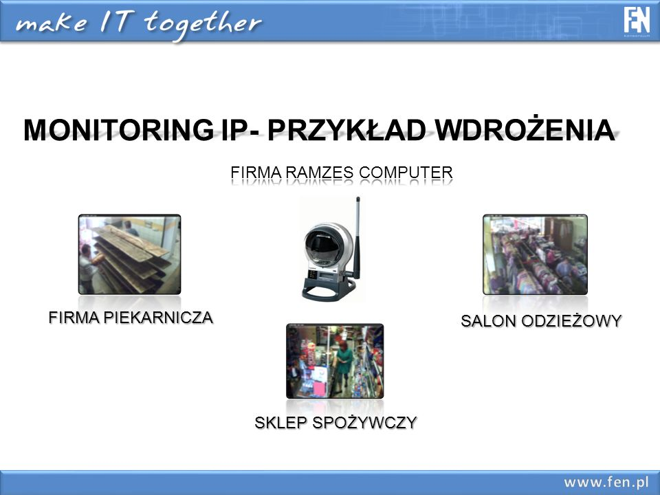 MONITORING IP- PRZYKŁAD WDROŻENIA