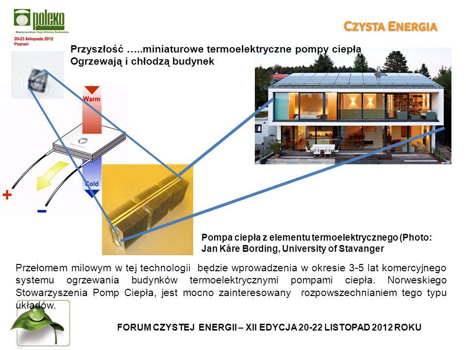 FORUM CZYSTEJ ENERGII – XII EDYCJA 20-22 LISTOPAD 2012 ROKU