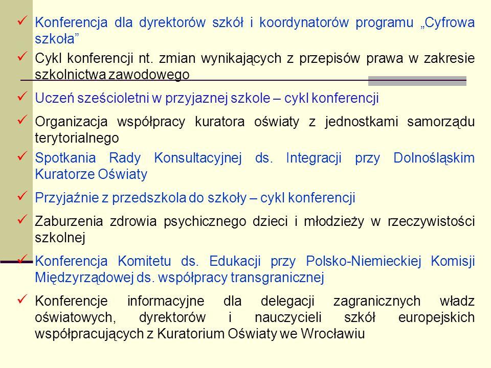 """Konferencja dla dyrektorów szkół i koordynatorów programu """"Cyfrowa szkoła"""