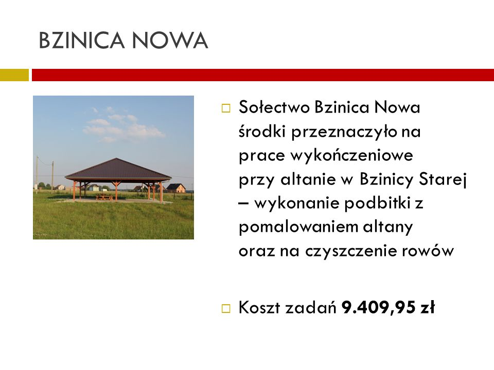 BZINICA NOWA