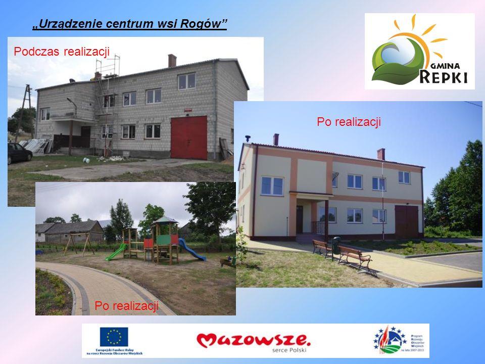 """""""Urządzenie centrum wsi Rogów"""