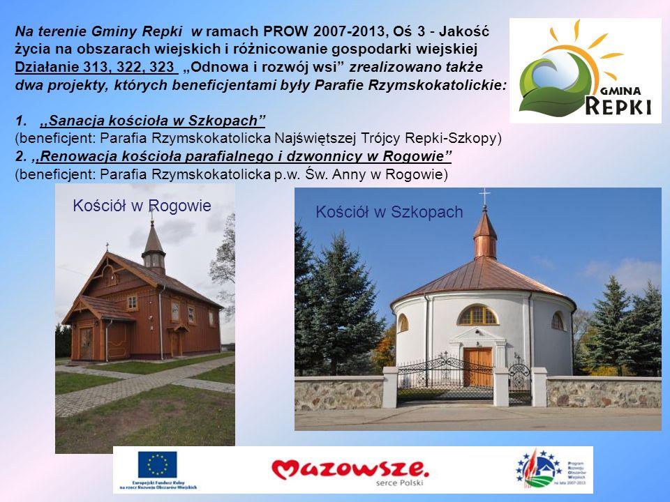 Kościół w Rogowie Kościół w Szkopach