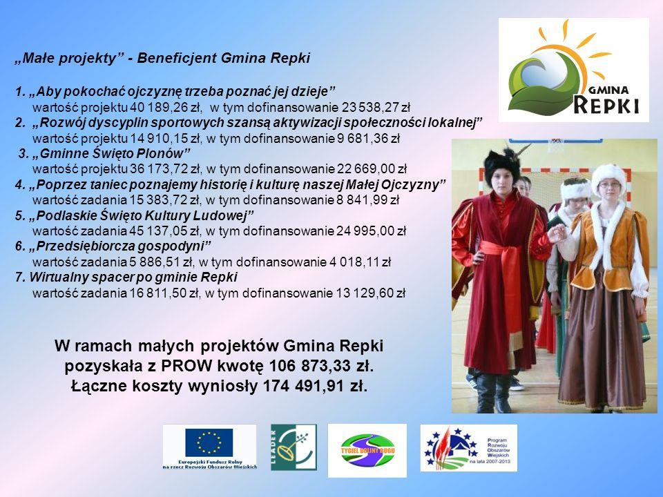 Łączne koszty wyniosły 174 491,91 zł.