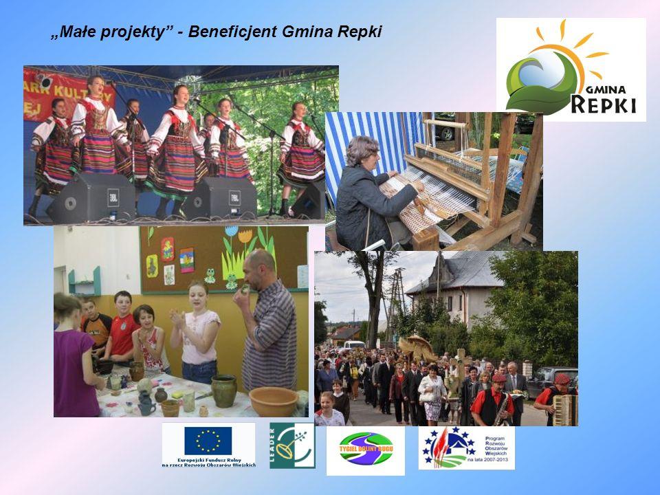 """""""Małe projekty - Beneficjent Gmina Repki"""