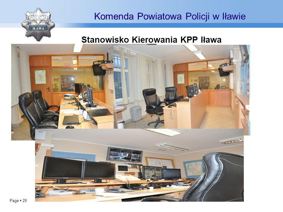 Stanowisko Kierowania KPP Iława