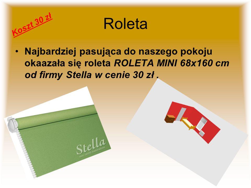 Roleta Koszt 30 zł.