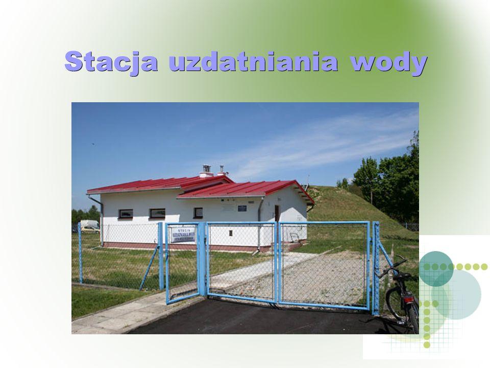 Stacja uzdatniania wody