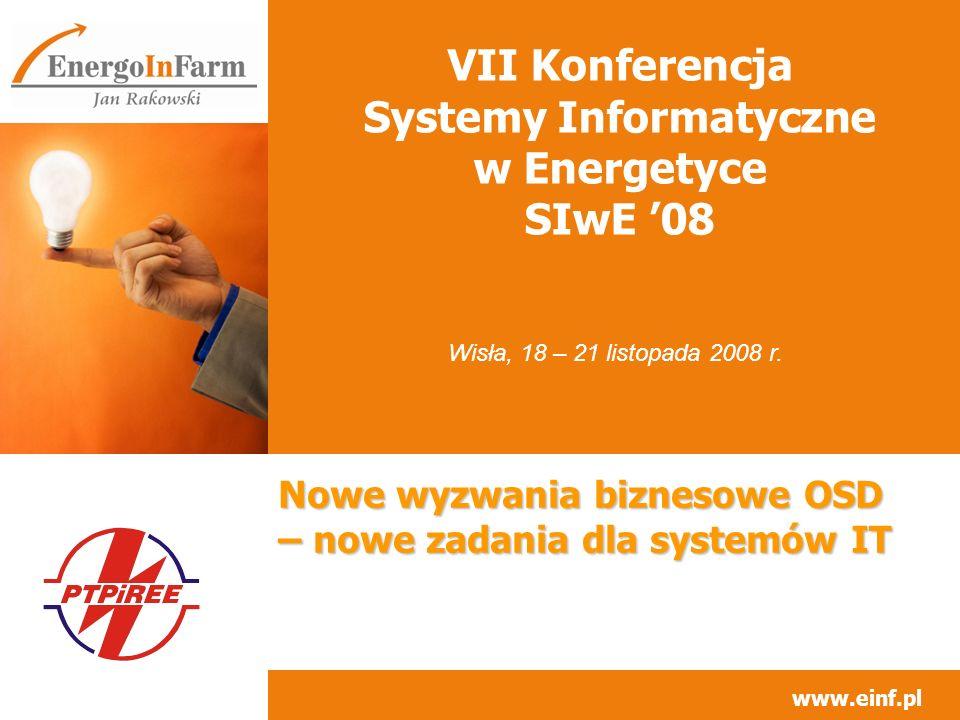 VII Konferencja Systemy Informatyczne w Energetyce SIwE '08