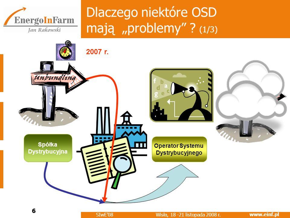 """Dlaczego niektóre OSD mają """"problemy (1/3)"""