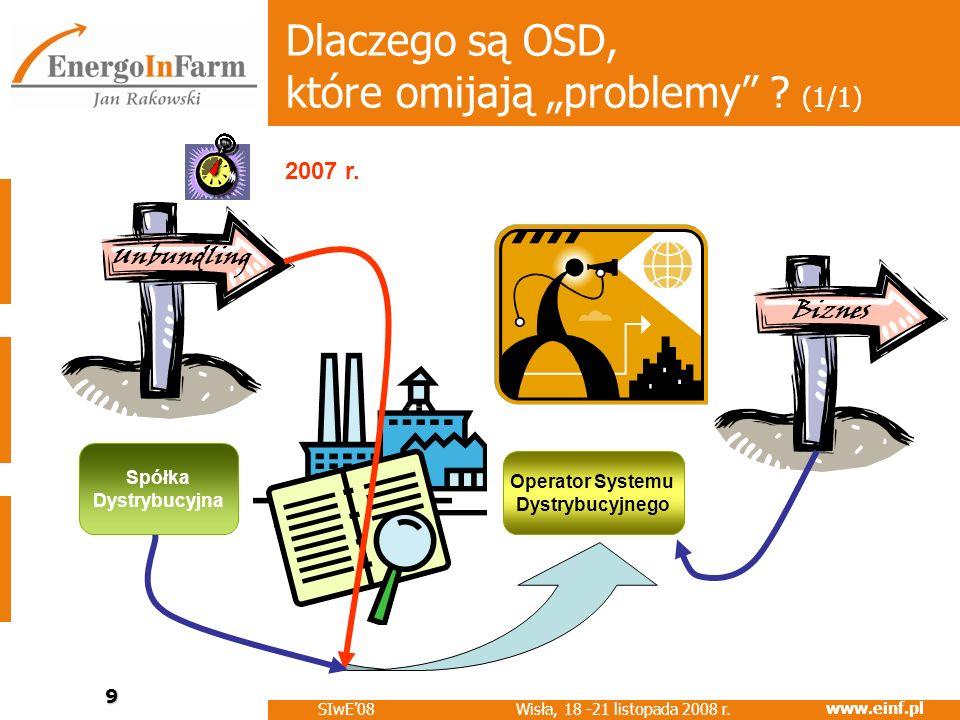 """Dlaczego są OSD, które omijają """"problemy (1/1)"""