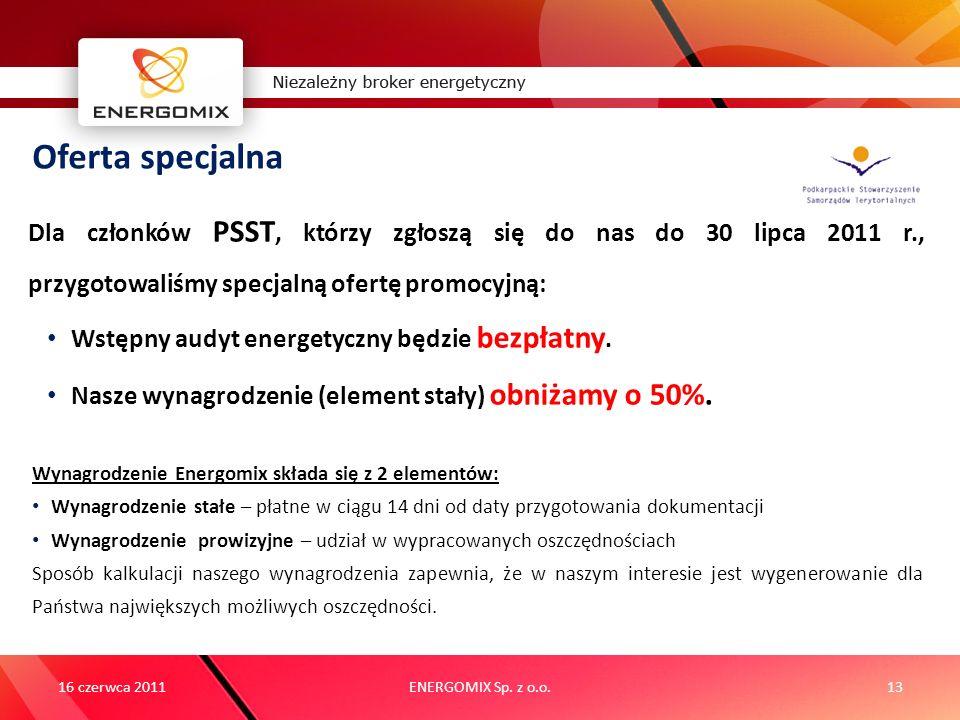 Oferta specjalnaDla członków PSST, którzy zgłoszą się do nas do 30 lipca 2011 r., przygotowaliśmy specjalną ofertę promocyjną:
