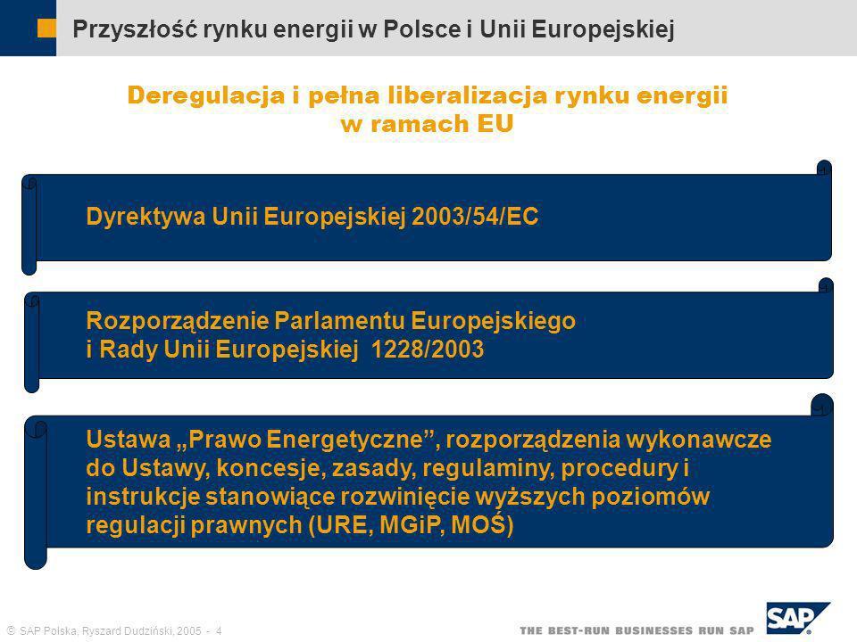 Przyszłość rynku energii w Polsce i Unii Europejskiej