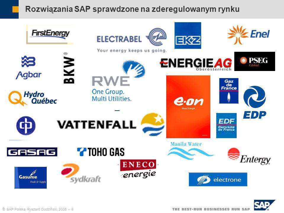 Rozwiązania SAP sprawdzone na zderegulowanym rynku