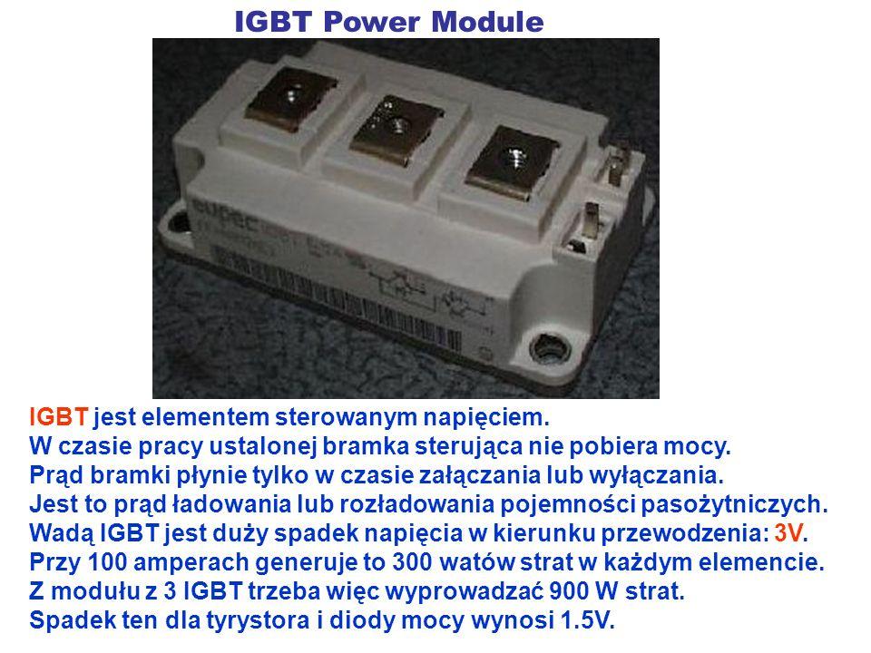 IGBT Power Module IGBT jest elementem sterowanym napięciem.