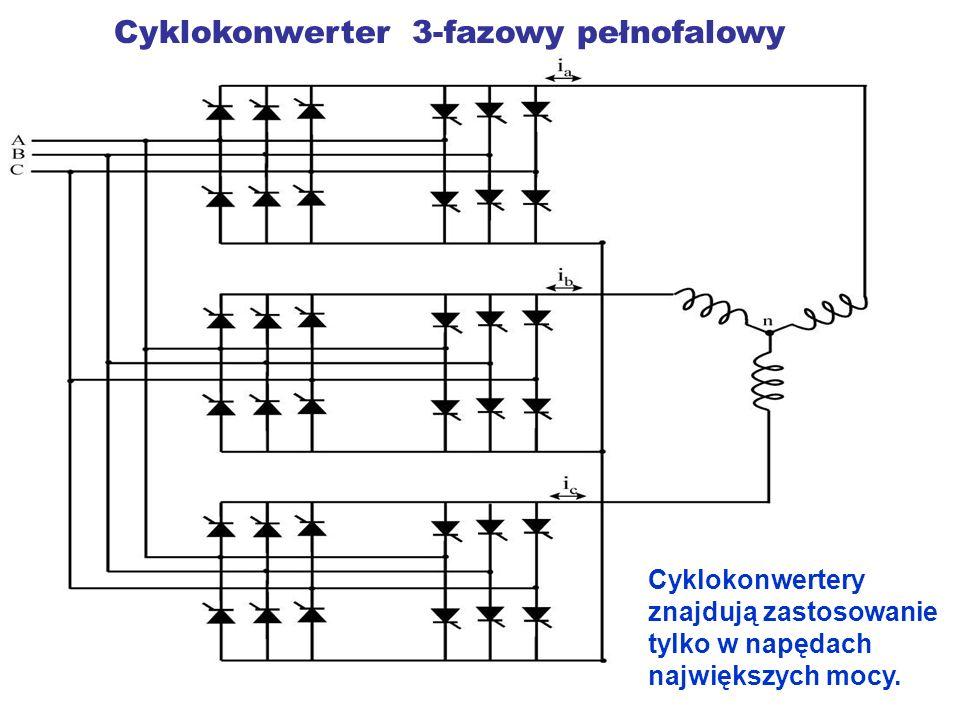Cyklokonwerter 3-fazowy pełnofalowy