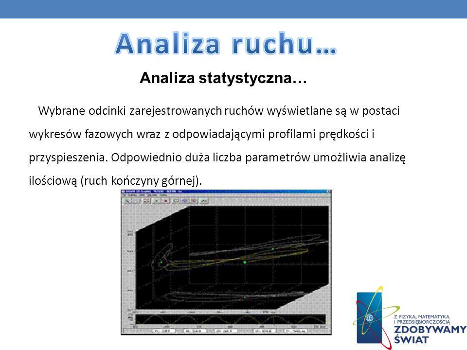 Analiza ruchu… Analiza statystyczna…