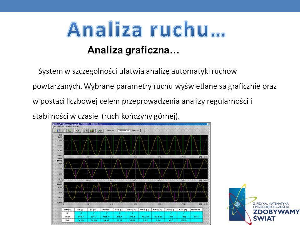 Analiza ruchu… Analiza graficzna…